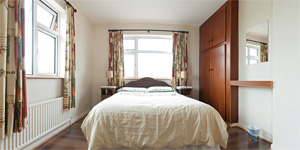 Bedroom 1 in Cliff View S/C Rental Accommodation Doolin County Clare Ireland