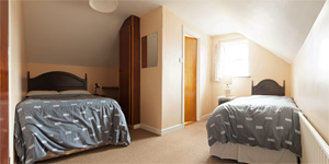 Bedroom 3 in Cliff View S/C Rental Accommodation Doolin County Clare Ireland