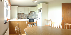 The kitchen in Cliff View S/C Rental Accommodation Doolin County Clare Ireland